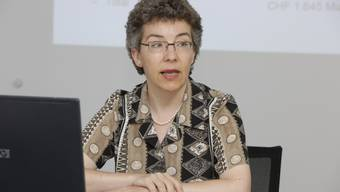 Susanne Jäger, Geschäftsführerin der Aargauischen Pensionskasse (APK) (Foto: Susi Bodmer)
