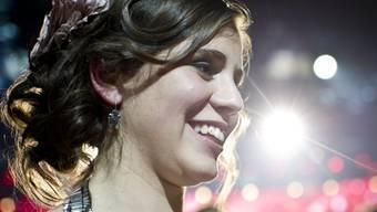 Strahlt bis über beide Ohren: Sängerin Eliane Müller (Archiv)
