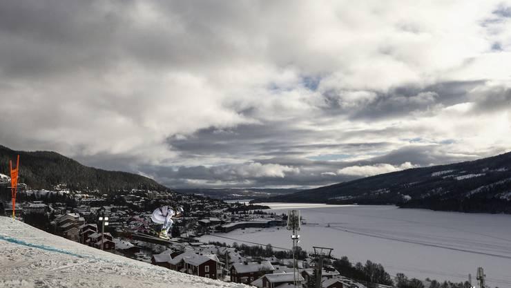 Laut Chef-Meteorologin der WM können in Åre alle vier Jahreszeiten an einem Tag vorkommen.