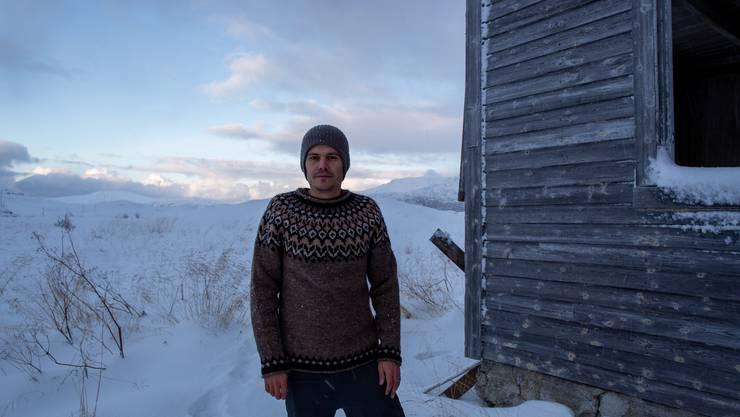 Reto Reto Koller reiste bisher nur im Herbst und Winter nach Tromsø.
