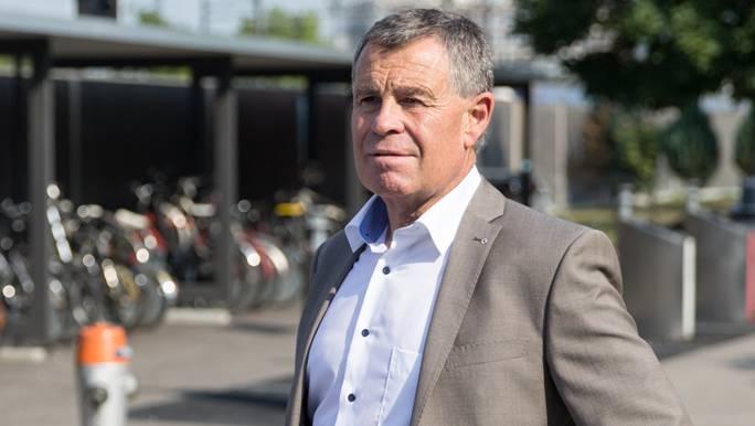 Ernst Stocker Finanzdirektor SVP