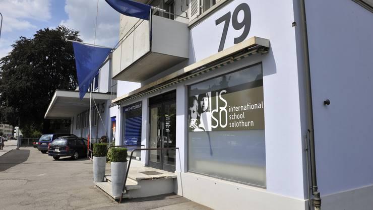 Die International School Solothurn an der Zuchwilerstrasse in Solothurn.