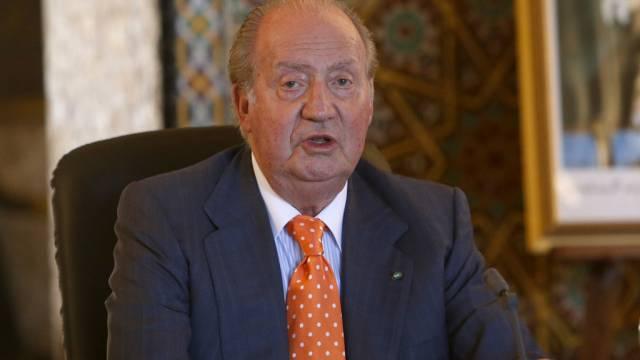 Spaniens König Juan Carlos auf Besuch in Marokko (am Mittwoch)