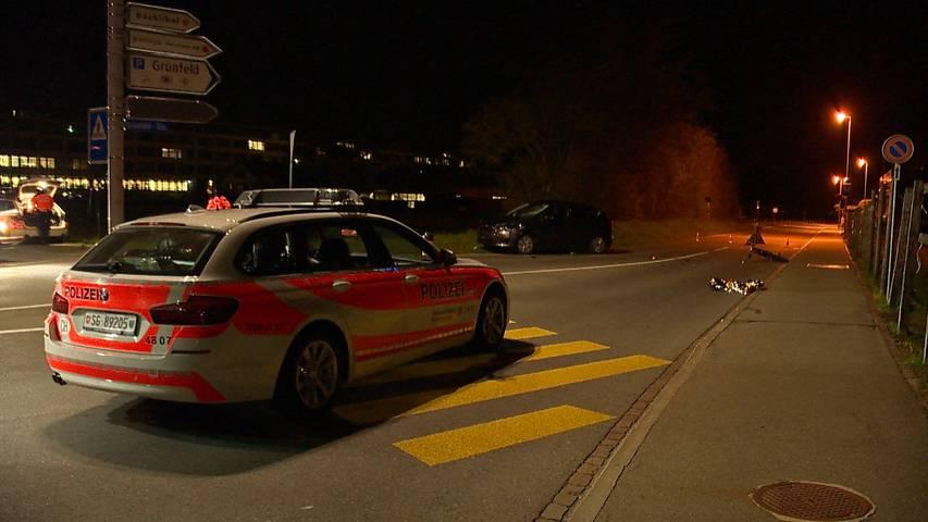 Auf der Flucht verunfallt: E-Bike-Fahrer bei Kollision in Rapperswil-Jona schwer verletzt
