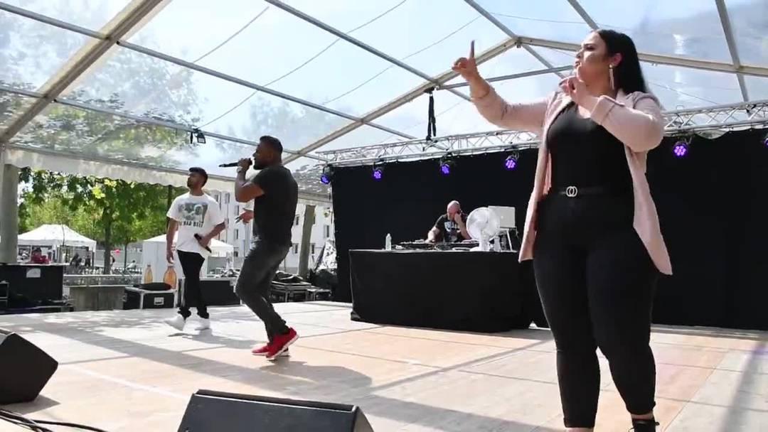 Windischer Rapper Morish, Siga und Vanessa