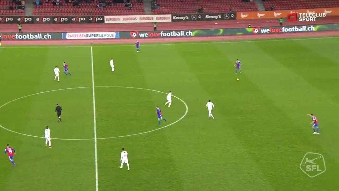 Super League, Saison 2018/19, Runde 27, FC Zürich-FC Basel, 1:0 FC Basel durch Samuele Campo (Assist: Eray Cömert)