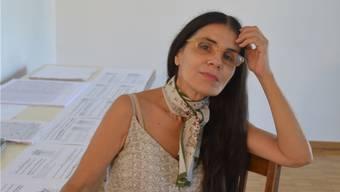 Silvia Fômina wirkt derzeit im Alten Spital als Gastkünstlerin.