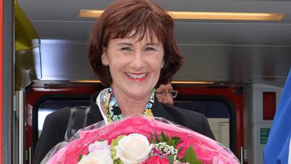 Feier zur Wahl der Urdorferin Brigitta Johner (FDP) zur Kantonsratspräsidentin.