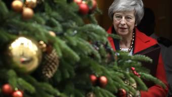 Brexit-Niederlage wird immer wahrscheinlicher: die britische Premierministerin Theresa May. (Archivbild)