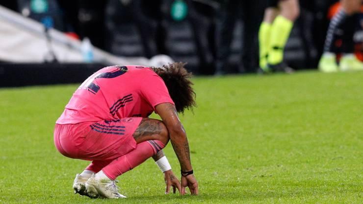 Marcelo kassierte mit Real Madrid eine seltsame und bittere Niederlage