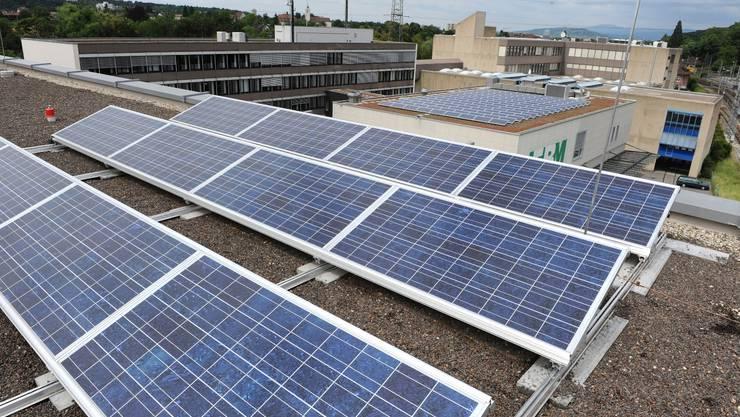 Photovoltaik nimmt in der neuen EBM-Versorgungsstrategie eine zentrale Stellung ein.