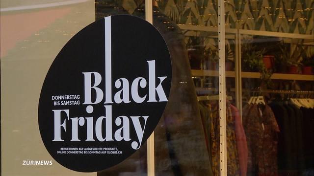 Black Friday als grösster Feiertag der Schnäppchenjäger
