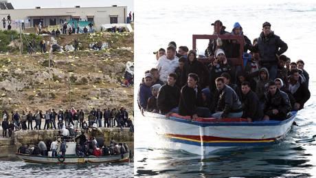 Die grosse Migrationswelle, die viele an die Wand malten, blieb bisher zwar aus. Trotzdem sind auf der italienischen Insel Lampedusa seit Beginn des arabischen Frühlings bereits über 18 000 Flüchtlinge angekommen.