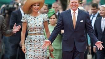 Das Königspaar Willem-Alexander und Máxima feiern in Maastricht
