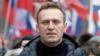 Kremlkritiker Alexej Nawalny.