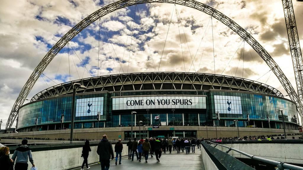 Die Spurs spielen im Wembley, bis das neue Stadion fertig gebaut ist.