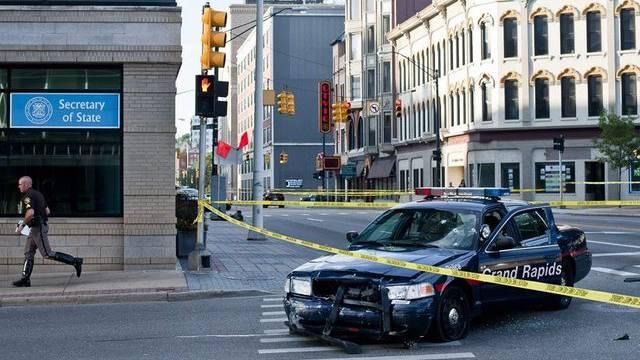 Der Geiselnehmer und mutmassliche Mörder lieferte sich eine Verfolgungsjagd mit der Polizei