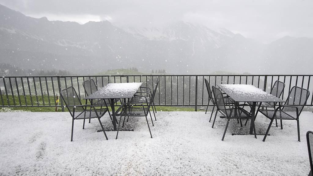 Schweiz erhält landesweit einheitliche Hagel-Gefährdungskarte