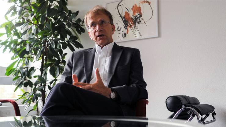 Joachim Küchenhoff, Direktor der Erwachsenenpsychiatrie in Liestal, steht der bz Rede und Antwort.