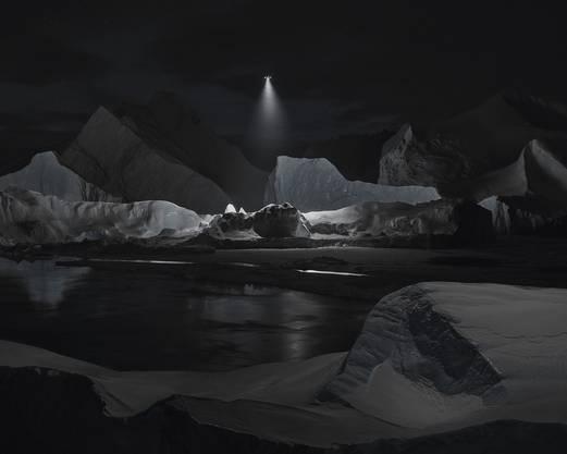 Videostill aus Film Towards No Earthly Pole - Vostok, 2019.