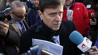 Eufemiano Fuentes beim Prozess-Auftakt in Madrid