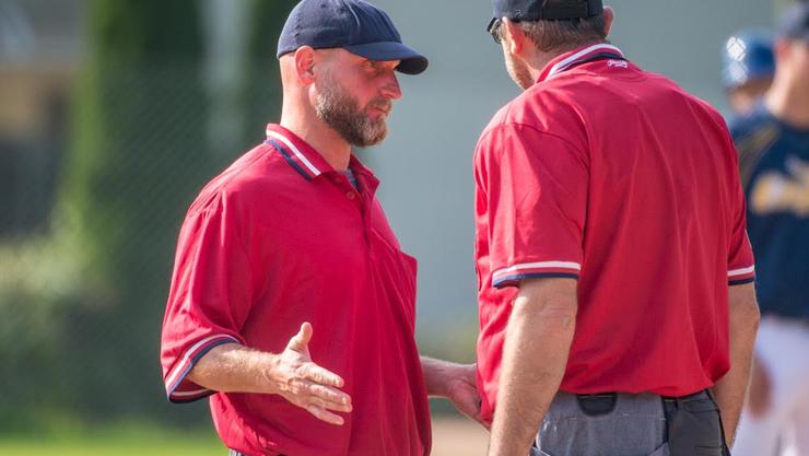 John Baum als NLA Umpire 2018