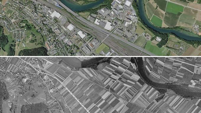 Spreitenbach 1946 und heute