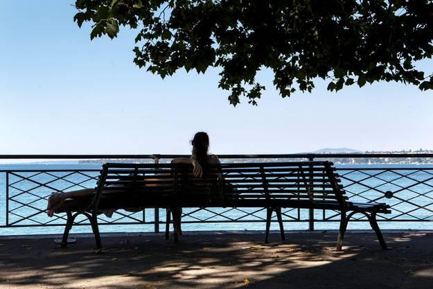 Ausruhen am Zürichsee.