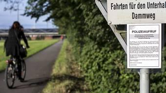 Am Dammweg in Emmen wurde am 21. Juli 2015 eine 26-jährige Frau von einem Unbekannten vom Velo gerissen und im nahen Wald vergewaltigt (Symbolbild).
