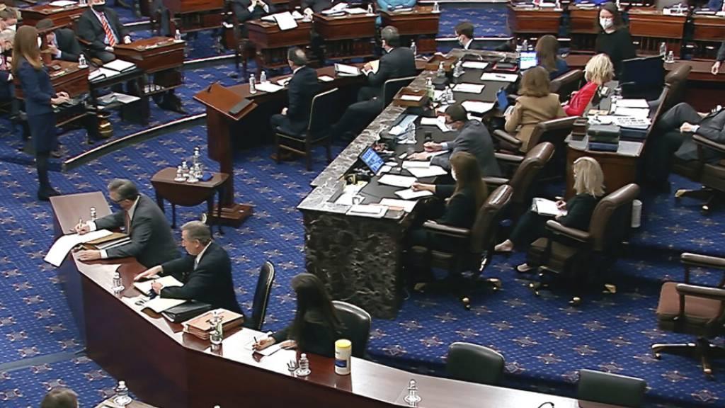 Doch keine Zeugen-Anhörung: Trump-Amtsenthebungsverfahren vor Urteil