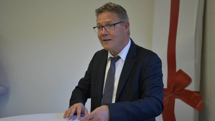 Regierungsrat Roland Fürst zieht seinen Gesetzesentwurf zurück.