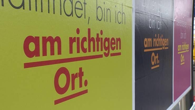 Plakat-Kampagne
