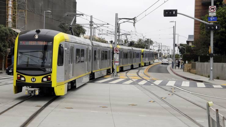 Die neue Metro in Santa Monica.