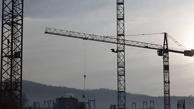 Schweizer Bauwirtschaft erzielt Rekordumsatz im dritten Quartal. (Archiv)