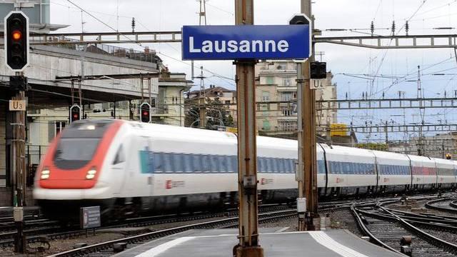 Die Strecke Genf-Lausanne ist wieder normal befahrbar
