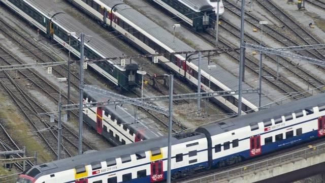 Der Bahnverkehr rund um den Hauptbahnhof in Zürich ist eingeschränkt