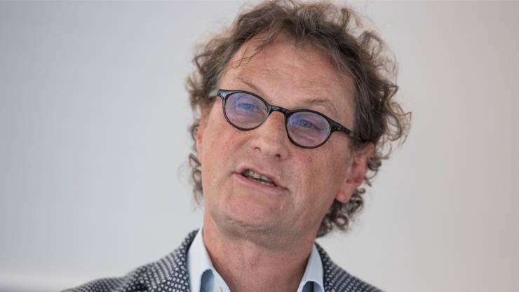 Geri Müller durfte an der Medienkonferenz in Brugg keine Frage stellen. (Archiv)