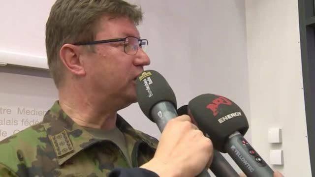 Luftwaffen-Chef: «Es war eine Berührung, keine Kollision»