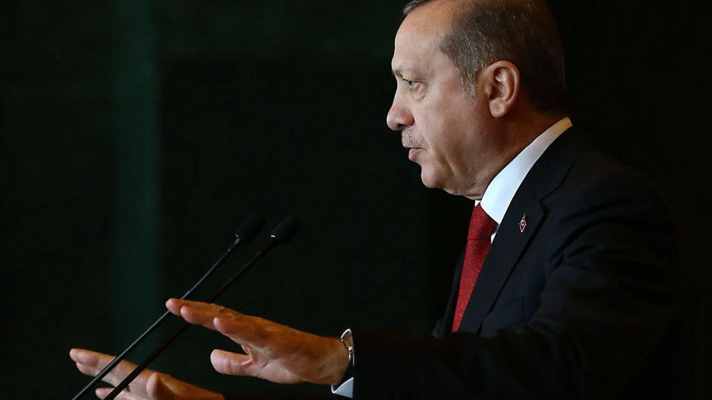 Wozu Superman und Spiderman, die's nie gegeben hat, wenn doch ein wahrer Held wie Recep Tayyip Erdogan existiert? Das hat ein türkischer Regisseur gefragt und ein Biopic über den Präsidenten gedreht (Archiv).