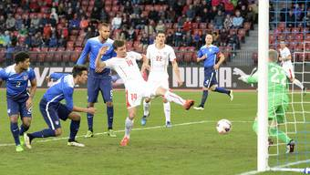 Die Schweizer Nati gegen die USA