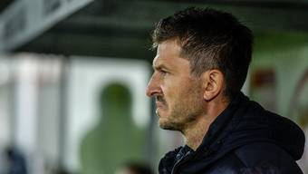 Marinko Jurendic muss den FC Aarau entlassen.