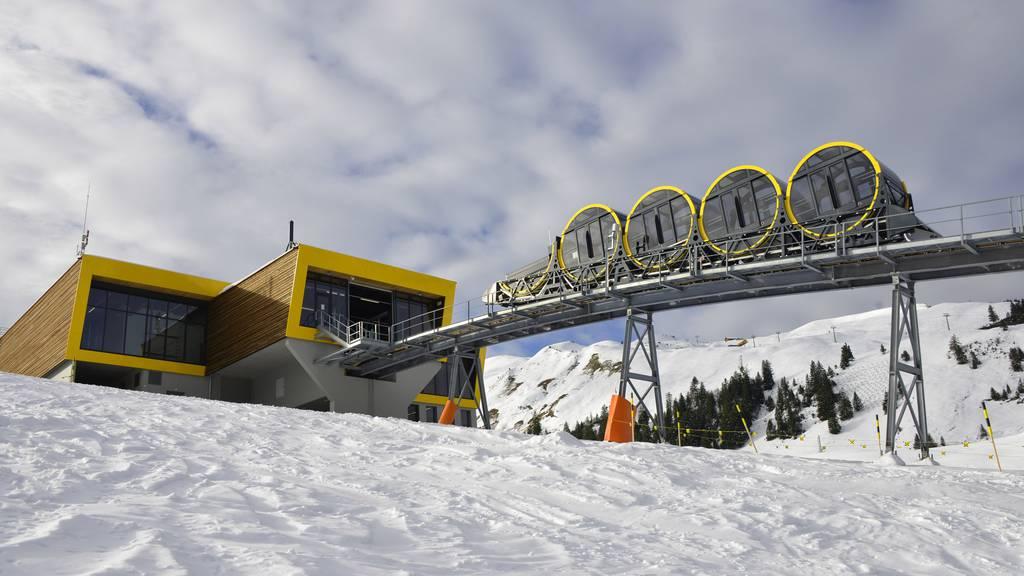 Eröffnung der steilsten Standseilbahn der Welt