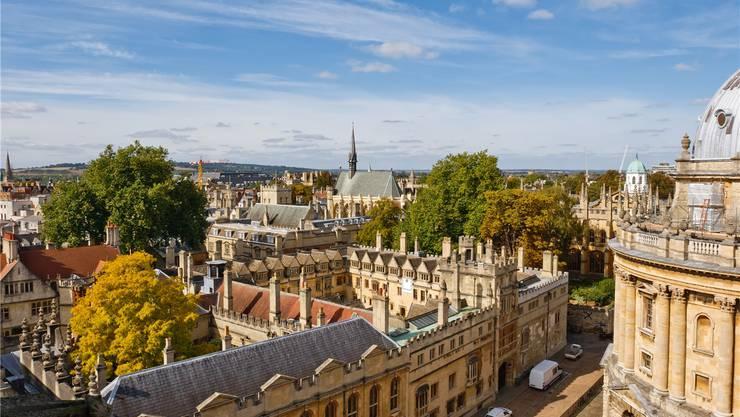 Oxford gilt als beste Hochschule des Kontinents.