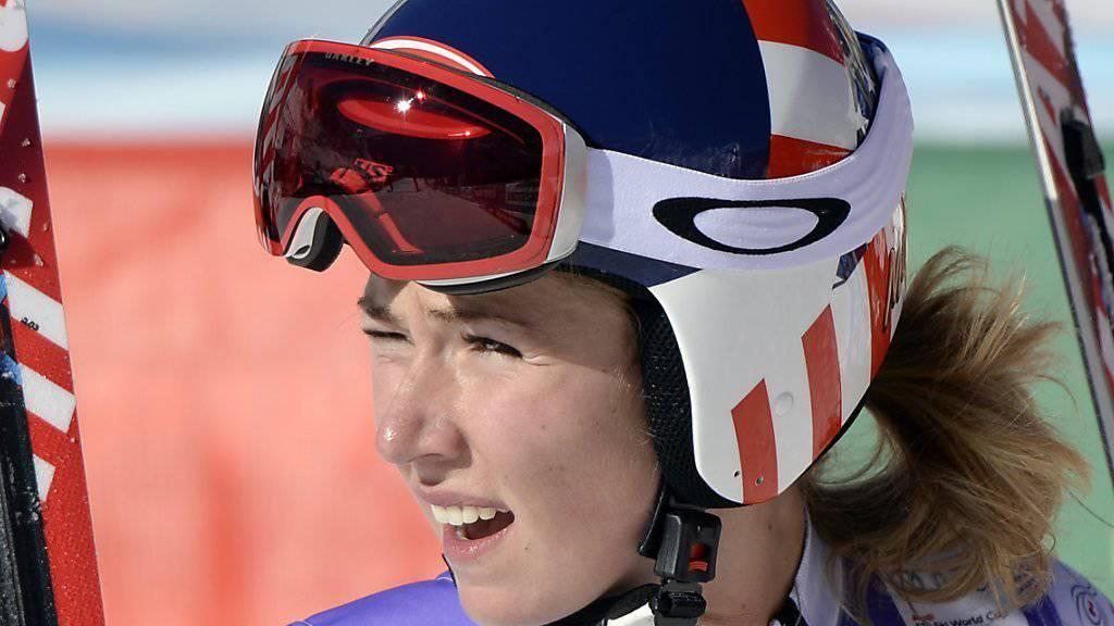 Eine Rückkehr von Mikaela Shiffrin noch in diesem Winter ist höchst ungewiss