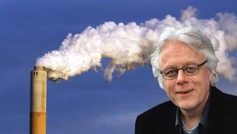 CO2-neutral bis 2030: Steckt Hotelier Peter Bodenmann hinter dem Plan? (Bildquellen: Keystone, Montage: CH Media)