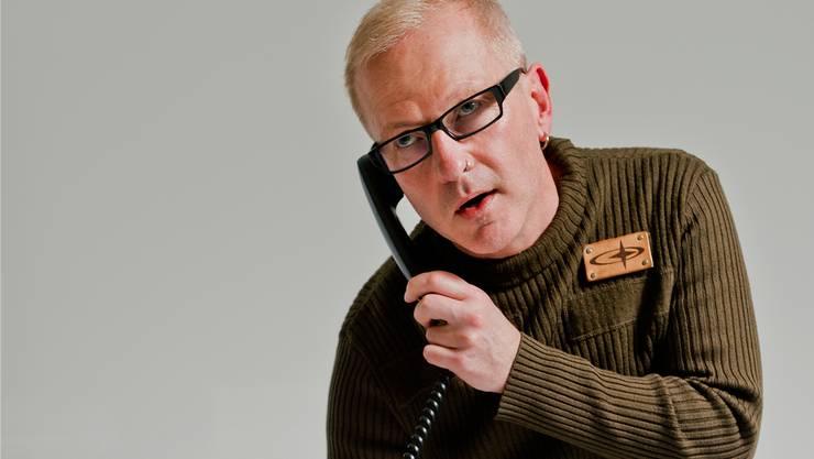 Harry Tritschler, Leiter des Männer- und Väterhauses, berät gewaltbetroffene Männer. Emanuel Freudiger