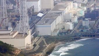 Eine Luftaufnahme des AKW Fukushima (Archiv)