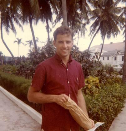 In seiner Jugend (hier mit 26) war Biden ein Athlet.