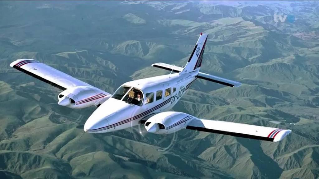 Flugzeugabsturz bei Staad: Pilot überlebt Crash