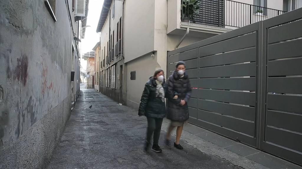 Coronavirus: Italien meldet fünftes Todesopfer